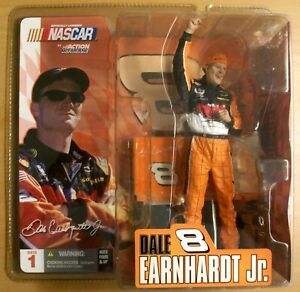 McFarlane NASCAR Action Dale Earnhardt Jr. Figure Series 1 2003 Collectible NEW