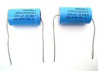 4000uF 4000 uF 15v Axial Electrolytic Capacitor *** NEW *** 5 pcs