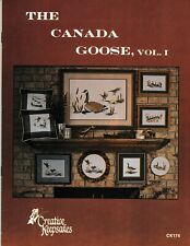 The Canada Goose Vol 1 Charted Cross Stitch | Creative Keepsakes #CK174