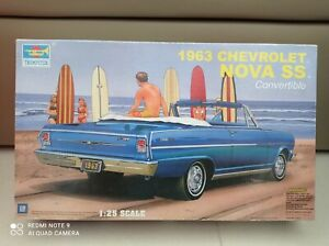 1/25 Chevrolet Nova SS Convertible Chevy 1963 Trumpeter