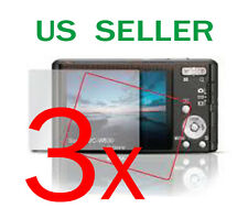 3x Sony CyberShot DSC-W530 Clear LCD Screen Protector Guard Cover Film