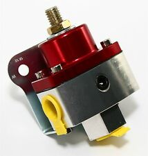 Red Billet Aluminum Fuel Pressure Regulator 5-12 PSI for Carbureted Applications