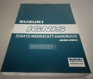 Manual de Taller Suplemento Suzuki Ignis RM415 Stand 07/2003