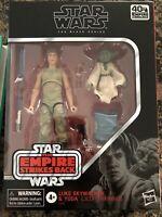 Hasbro Star Wars Black Series D4 Luke Skywalker & Yoda Jedi Training New (23)