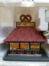 Department 56 Christmas in the City- Hot Pretzels #59415 New Retired