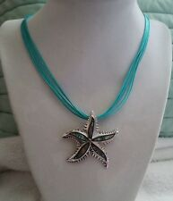 Steel Design Abalone  Starfish Necklace  stainless steel $54. NWT