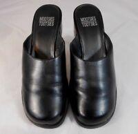 Mootsies Tootsies MOPAISLE Womens Shoes Size 8 M Slip On Block Heel Black