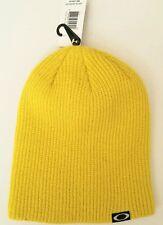 Oakley Backbone Action-Sport Style Ellipse Logo Beanie Hat - One Size