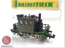 N 1:160 escala locomotive locomotora trenes Trix Minitrix 12017 BR 98 KBayStsB <