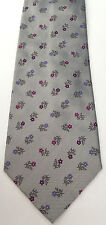 """Paul Smith Classic Tie 9cm VERY RARE FLORAL Design """"MAINLINE"""" Made in Italy"""