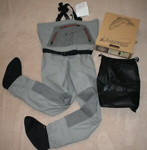 Frogg Toggs Men's Hellbender Stockingfoot Chest Wader 2711126 NIB