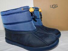 New Kids Girls Boys Size 5 Navy Ugg Puffer Snow Winter Boots 1094485K Waterproof