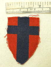 An Original Military WW2 British Troops In France Cloth Formation Badge (3549)
