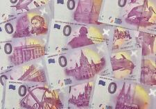 0 Euro Schein Souvenirschein Deutschland zur Auswahl, Null € Souvenir Note