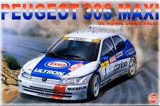 Peugeot 306 Maxi '96 Monte Carlo Rally 1:24 Model Kit Bausatz Platz nunu PN24009