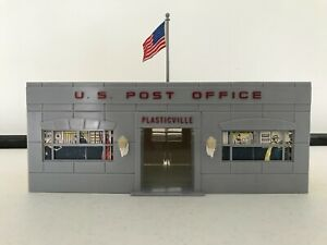 PLASTICVILLE US POST OFFICE - O/S SCALE