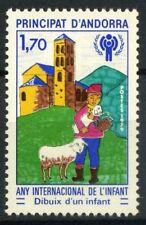 Andorra Francese 1979 Mi. 300 Nuovo ** 100% Inter. anno del bambino