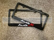Audi Sport Audi License Plate Frame RS3 TTRS R8 A4 S4 TT S5 Q5 2 color - Pair