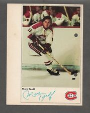 (RARE ERROR) 71-72 Toronto Sun NHL Action Players Marc Tardif Punched Wrong Side