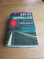 AYN RAND ATLAS SHRUGGED 1ST/1ST PRINT ORIGINAL DJ PRICE $6.95/**10/57**EXCL*RARE