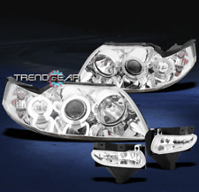 1999-2004 FORD MUSTANG HALO PROJECTOR HEAD LIGHTS+FOG CLEAR 2000 2001 2002 2003