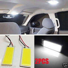 2pcs Xenon HID White 36 COB LED Dome Light Bulb Car Interior Panel Lamp 12V DC