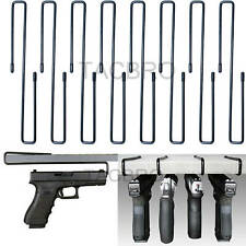 All Steel Handgun Hangers 8 Pcs Pistol Rack Storage Solution Accessories