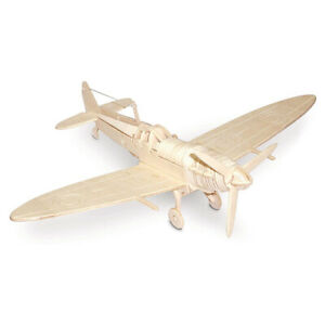 Spitfire Woodcraft Quay Construction Wooden 3D Model Kit P301 Military