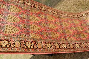 2.5 X 10.5 Feet COLLECTOR' PIECE Stunning 100% Silk Turkish Harika Long Runner