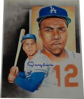 Tommy Davis Signed Autographed 11x14 Poster/Print Los Angeles Dodgers /30