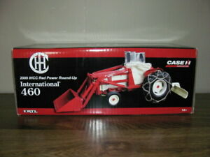 ERTL IH 460 UTILITY TRACTOR LOADER RED POWER ROUND UP MCCORMICK INTERNATIONAL