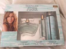 Jennifer Aniston Beachscape Perfume 3pc Gift Set 2.9oz EDP 8oz mist .5oz spray
