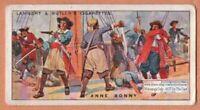 Anne Bonny Female Irish Pirate 90+ Y/O Ad Trade Card