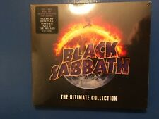 BLACK. SABBATH.       THE ULTIMATE.  COLLECTION.        TWO COMPACT  DISCS.