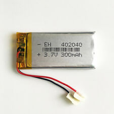 3.7V 300mAh Lipo li-Polymer Rechargeable Battery For Mp3 bluetooth camera 402040