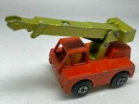 Matchbox Lesney Superfast No 42 Iron Fairy Mobile Crane