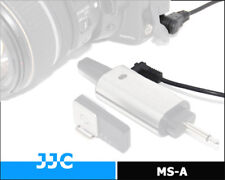 JJC MicroSync Cable Release firing Cord MS-A FOR CANON VMC115 5D 1D 50D 7D