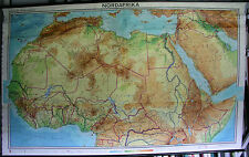 School Wall Map Wall Map School Map North Africa North Africa Africa 3mio 256x156c