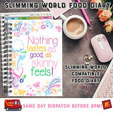 Food Diary Slimming World Diet Compatible 12WK LOG Weight Loss Book NTAGASF
