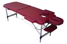 TABLE DE MASSAGE G6X PLIANTE PORTABLE EN ALUMINIUM 2 PLANS ZONES kiné tattoo
