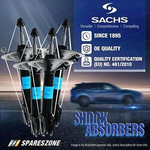 Front + Rear Sachs Shocks for Toyota Aurion GSV40R 3.5L Sedan Sportivo TRD 06-12