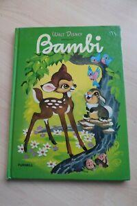 Bambi Walt Disney Presents HC Purnell 1980 Large format