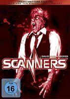DVD SCANNERS - UNCUT - DAVID CRONENBERG HORROR KLASSIKER - ungeschnitten * NEU *