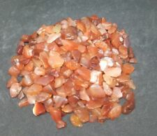 CARNELIAN TUMBLED CHIPS 50g BAG ~ FREE POSTAGE