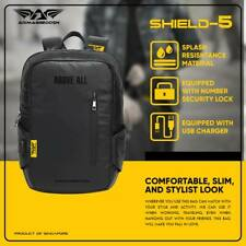 """15.6"""" Laptop Backpack with Anti-Theft Lock/USB Charge Port Armaggeddon Shield-5"""