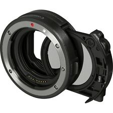 Canon Drop-In Filter Mount Adapter EF-EOS R with Circular Polarizing Filter New