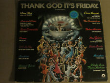 Thank God It'S Friday (Original Soundtrack) 3Lp Orig '76 Casablanca Disco Vg
