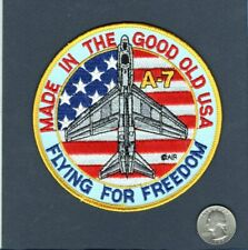A-7 CORSAIR II US NAVY VA- USAF TFS Vought Attack Squadron Jacket Patch