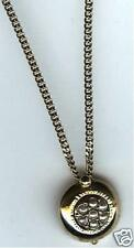 LOVELY 16 INCH TOTAL LENGTH gp NECKLACE Pendant