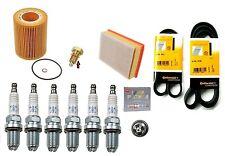2004-2006 BMW X3 3.0L Tune-up Kit NGK Spark Plugs Mann Oil+Air+Drain Plug
